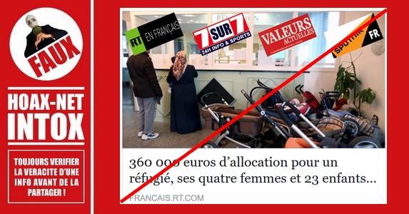 NORD PRESSE : L'info bidon de Valeurs Actuelles, RT et 7sur7.