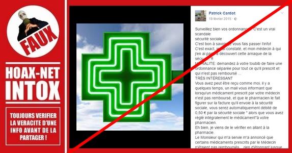 AUCUNE arnaque de la sécurité sociale sur les médicaments non remboursés
