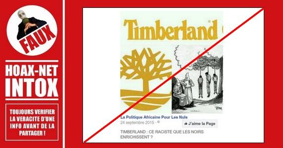 Non,Timberland n'a aucun lien avec le Ku Klux Klan (KKK)