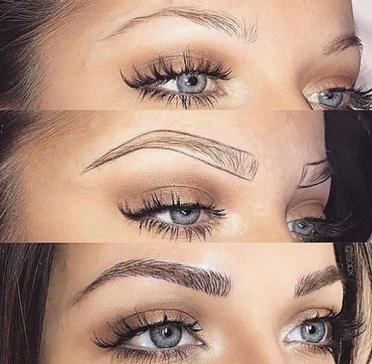 Semi Permanent Makeup Microblading