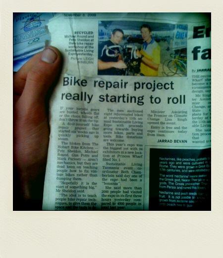 HBK in the Paper