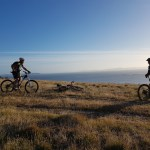The views you'll see on a Hobart Mountain Bike Tour
