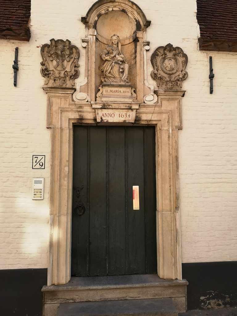 Inngangsparti Brugge
