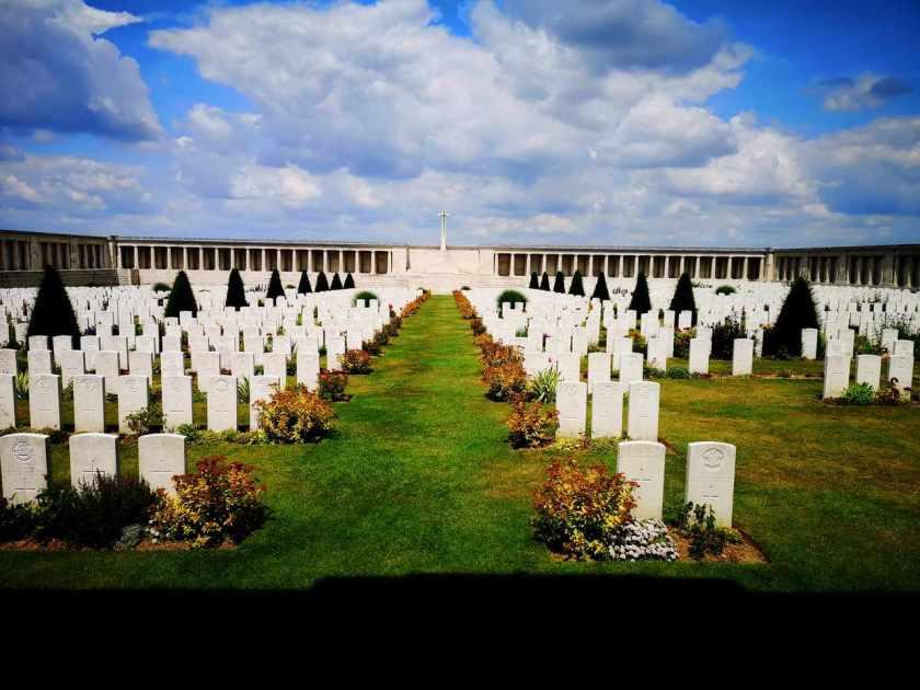 Britisk minnesmerke slaget ved Somme