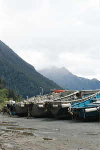 We quickly learned how integral boats are to the way of life in Southeast Alaska.
