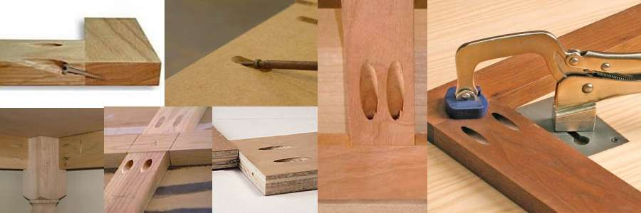 Pocket Holes and Joints.
