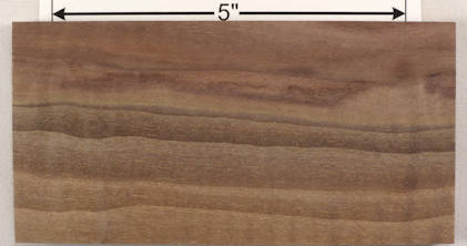 Curly Walnut Wood