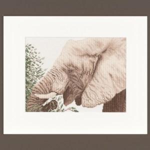 Lanarte Borduurpakket - Etende olifant