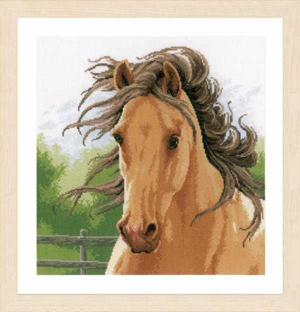 Lanarte Borduurpakket - Merrie / Paard