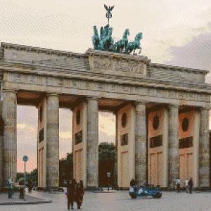 MyHobby borduurpakket - Brandenburger Tor Berlijn