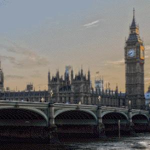 MyHobby borduurpakket - Big Ben Londen