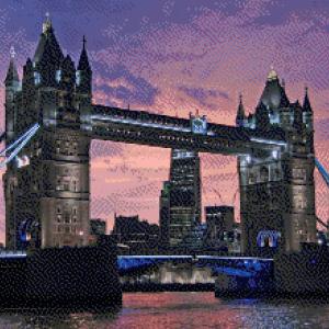MyHobby borduurpakket - Tower Bridge Londen