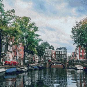 MyHobby borduurpakket - Amsterdamse Gracht