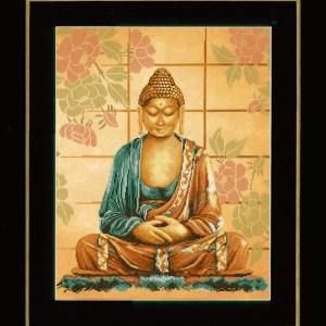 Lanarte Borduurpakket - Boeddha