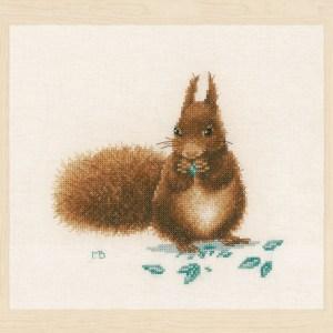 Lanarte Borduurpakket - Eekhoorntje