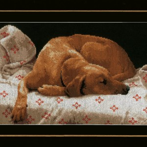 Lanarte Borduurpakket - Slapende hond
