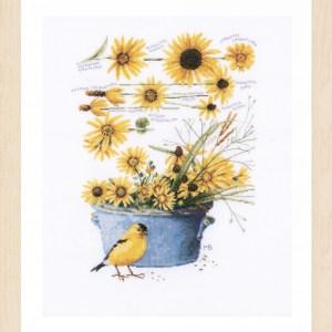 Lanarte Borduurpakket - Zonnebloemen
