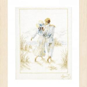 Lanarte Borduurpakket - Romantisch paar