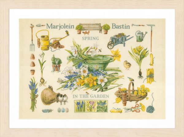 Lanarte Borduurpakket - Lente in de tuin
