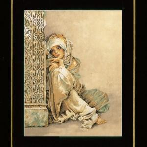Lanarte Borduurpakket - Arabische vrouw