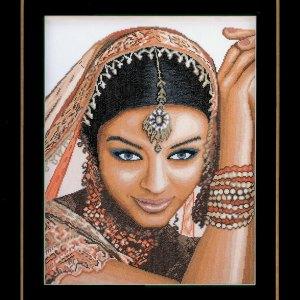 Lanarte Borduurpakket - Indische vrouw