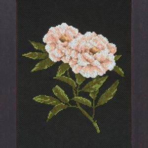 Lanarte Borduurpakket - Witte bloemen