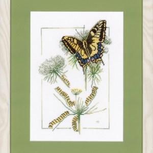 Lanarte Borduurpakket - Van rups tot vlinder