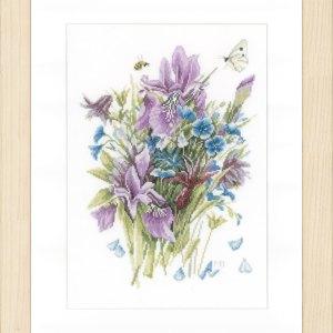 Lanarte Borduurpakket - Irissen