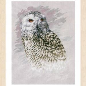 Lanarte Borduurpakket - Snowy Owl