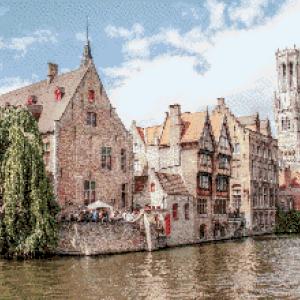 MyHobby borduurpakket - Brugge België