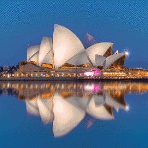MyHobby borduurpakket - Opera House van Sydney
