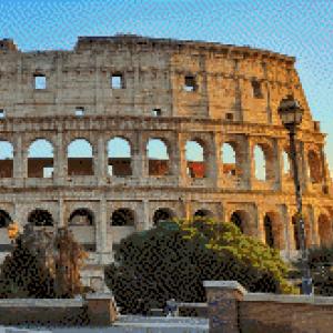 MyHobby borduurpakket - Colosseum Rome