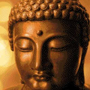 MyHobby borduurpakket - gouden boeddha