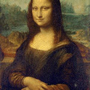 MyHobby borduurpakket - Mona Lisa