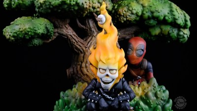 Marvel: Deadpool x Ghost Rider Q - MASTER DIORAMA
