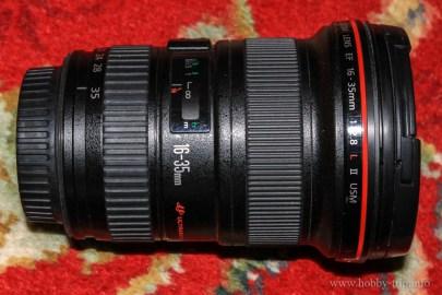 Canon 16-35 II, F 2.8
