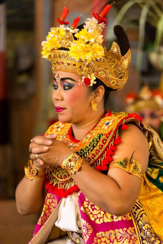 Портрет на индонезийка - остров Бали