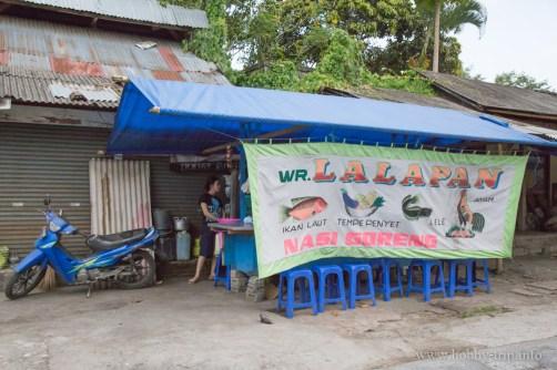 Warung на улицата, lalapan