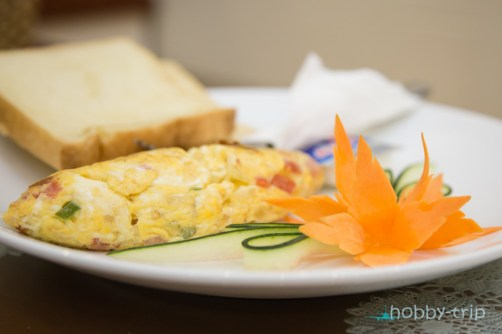 Omlet in Hanoi Culture Hostel