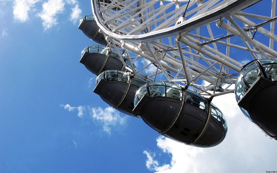 Reuzenrad in Londen heet London Eye  Hobbyblogonl
