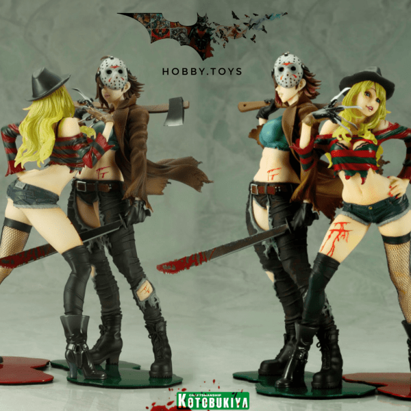 Freddy vs Jason — Freddy Krueger Horror Bishoujo Statue.