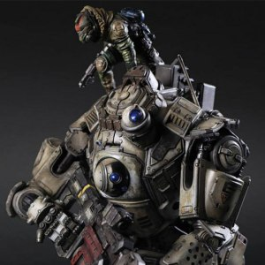Коллекционная фигурка Play Arts Kai из игры Titafall: Атлас с пилотом