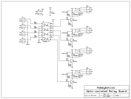 small resolution of hobbybotics optoisolated relay controller hobbybotics cnc electrical schematics