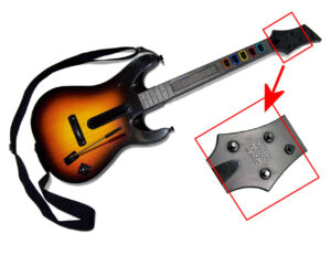 Guitar Hero World Tour Guitar, mechanical switch fret upgrade