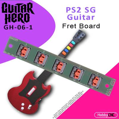 Guitar Hero PS2 SG Mechanical Switch Fret Upgrade Kit with Switches