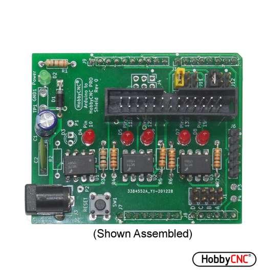 Arduino UNO to HobbyCNC PRO Shield Kit