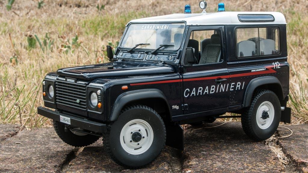 Land Rover Defender 90 Carabinieri Model Cars HobbyDB