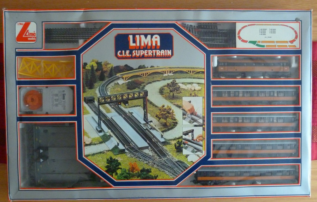 Lima OO CIE Supertrain Set Model Train Sets HobbyDB