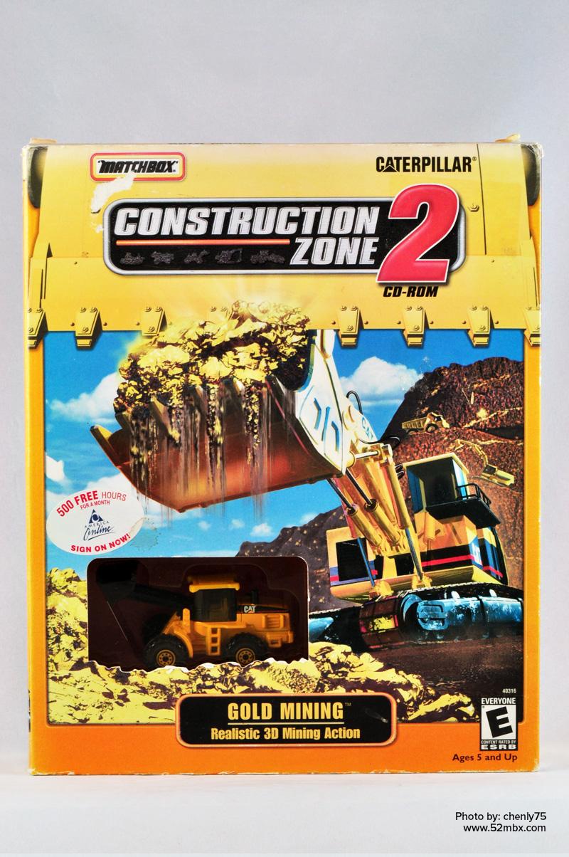 Matchbox Caterpillar Construction Zone Video Games HobbyDB