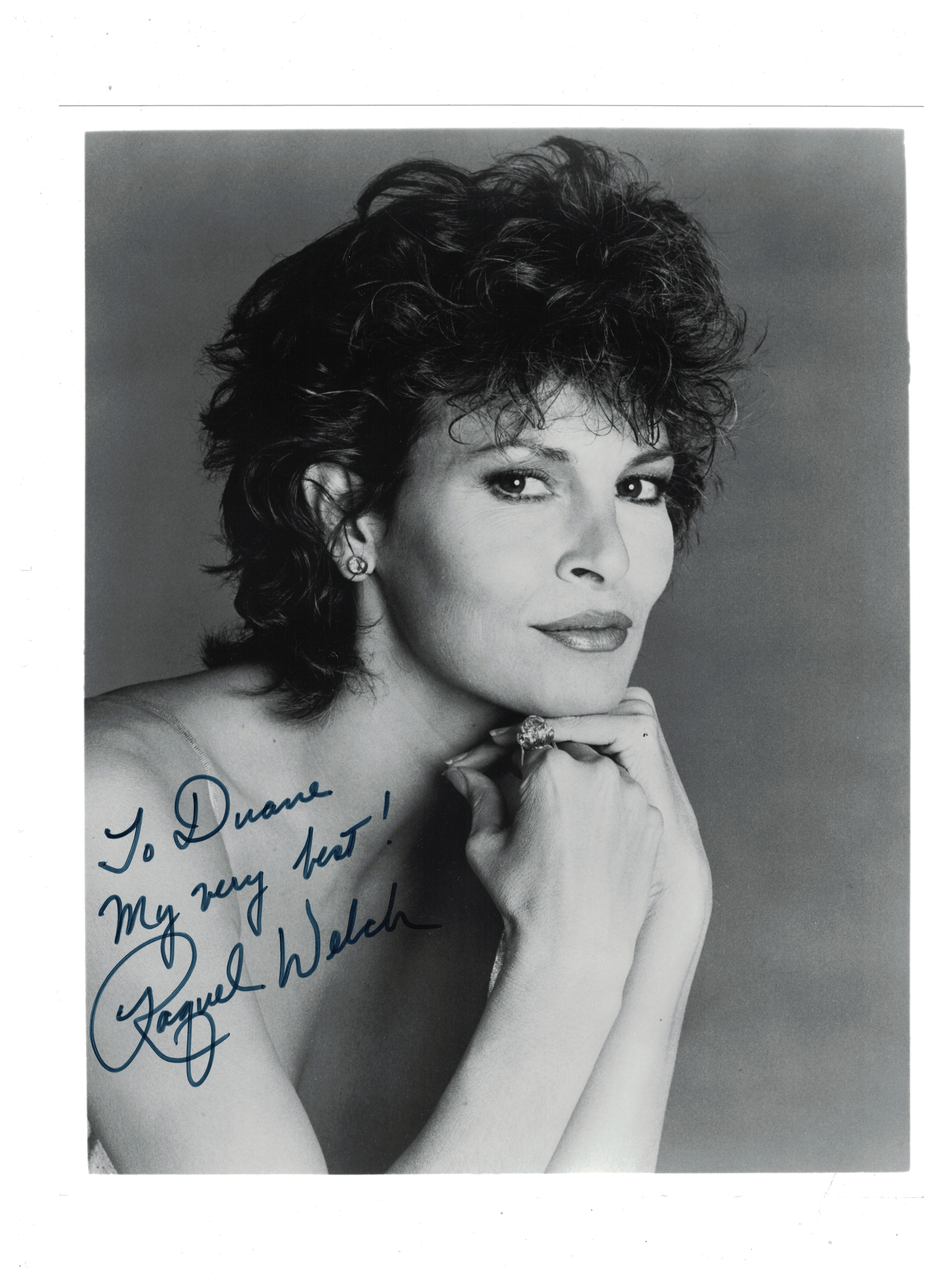 Raquel Welch Signed Autograph  Posters and Prints  hobbyDB